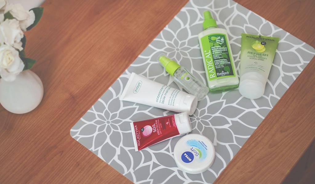 Przegląd ulubionych kosmetyków do 10zł / TOP 6 !